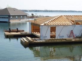 Boathouse Construction