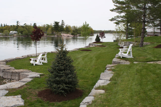 Landscaping for Landscape construction services