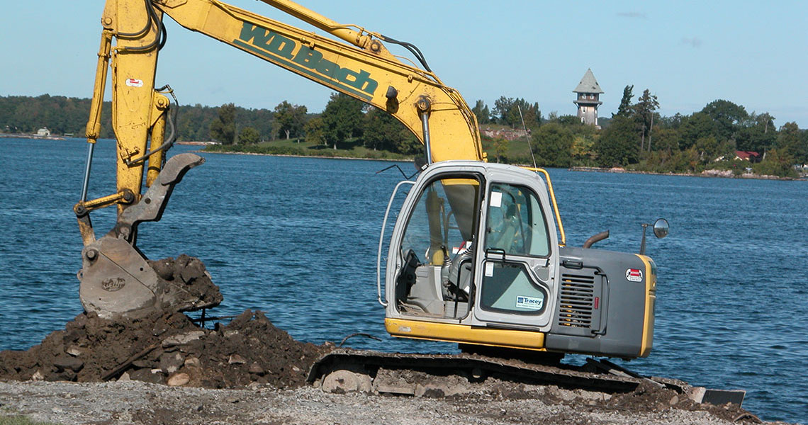 Thousand Islands Excavator