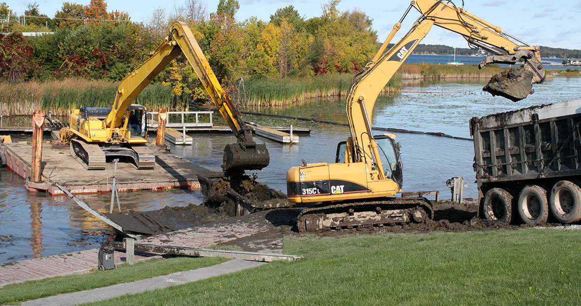Thousand Islands – St Lawrence River Dredging