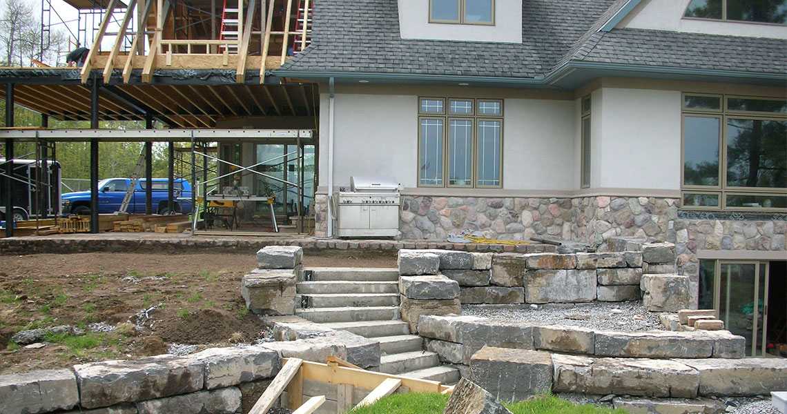 Thousand Islands Patio Hardscape