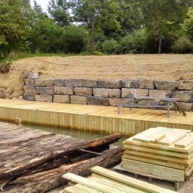 New Dock Construction
